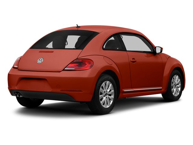 Tornado Red 2013 Volkswagen Beetle Coupe Pictures Beetle Coupe 2D TDI photos rear view