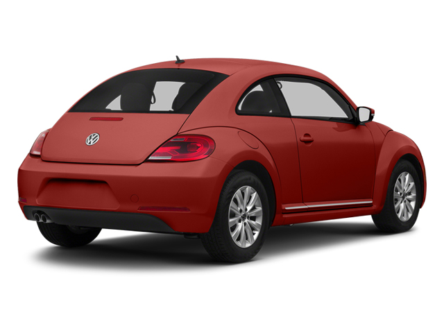 Tornado Red 2013 Volkswagen Beetle Coupe Pictures Beetle Coupe 2D 2.5 I5 photos rear view