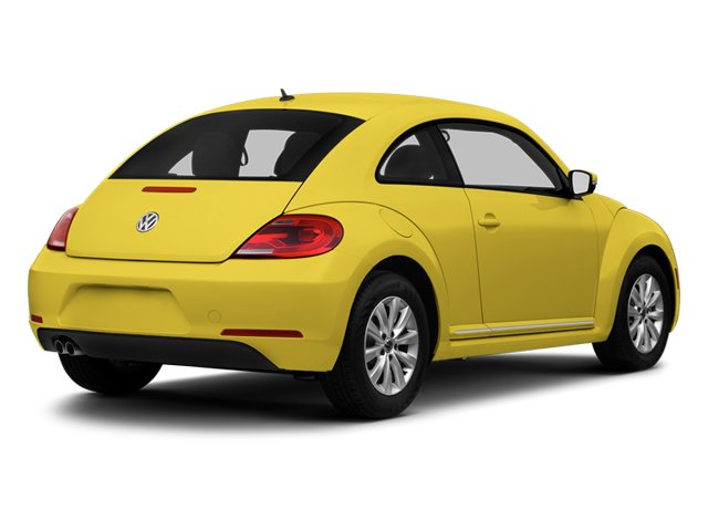 Yellow Rush 2013 Volkswagen Beetle Coupe Pictures Beetle Coupe 2D 2.5 I5 photos rear view