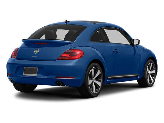 Reef Blue Metallic 2013 Volkswagen Beetle Coupe Pictures Beetle Coupe 2D 2.0T R-Line I4 Turbo photos rear view