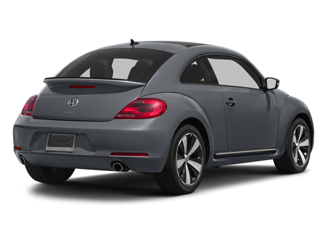 Platinum Gray Metallic 2013 Volkswagen Beetle Coupe Pictures Beetle Coupe 2D 2.0T R-Line I4 Turbo photos rear view