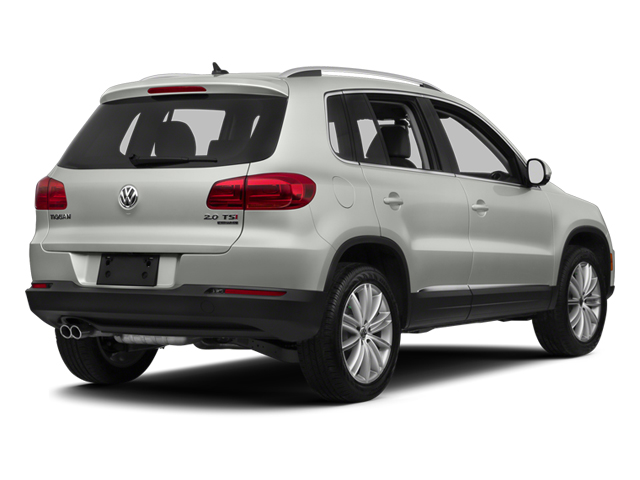 Reflex Silver Metallic 2013 Volkswagen Tiguan Pictures Tiguan Utility 4D SEL 2WD I4 Turbo photos rear view