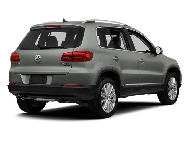 Pepper Gray Metallic 2013 Volkswagen Tiguan Pictures Tiguan Utility 4D SEL 2WD I4 Turbo photos rear view
