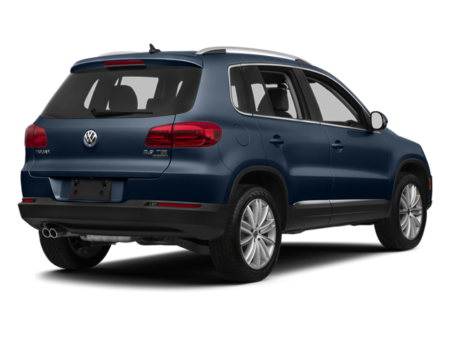 Night Blue Metallic 2013 Volkswagen Tiguan Pictures Tiguan Utility 4D SEL 2WD I4 Turbo photos rear view