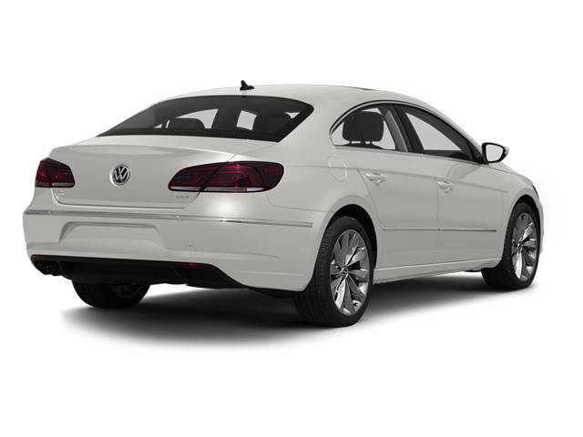 Candy White 2013 Volkswagen CC Pictures CC Sedan 4D R-Line I4 Turbo photos rear view