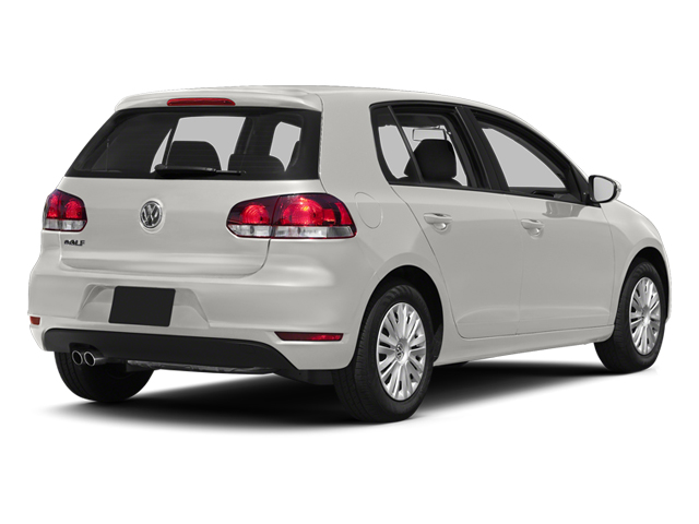 Candy White 2013 Volkswagen Golf Pictures Golf Hatchback 4D I5 photos rear view