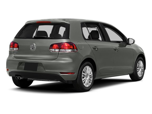 United Gray Metallic 2013 Volkswagen Golf Pictures Golf Hatchback 4D I5 photos rear view