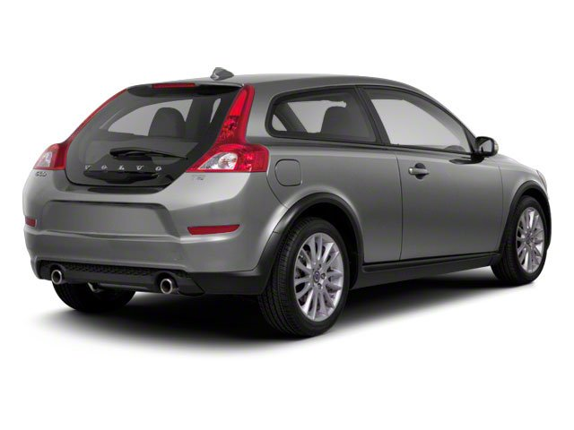 Electric Silver Metallic 2013 Volvo C30 Pictures C30 Hatchback 3D I5 Turbo photos rear view