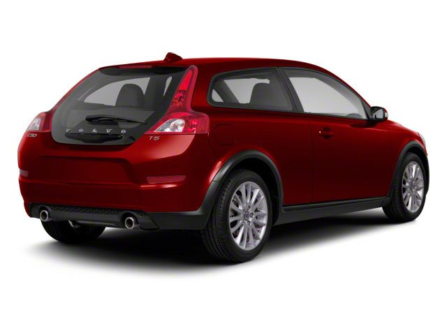 Flamenco Red Metallic 2013 Volvo C30 Pictures C30 Hatchback 3D I5 Turbo photos rear view