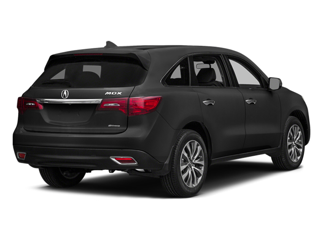 Graphite Luster Metallic 2014 Acura MDX Pictures MDX Utility 4D Technology DVD AWD V6 photos rear view
