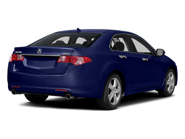 Vortex Blue Pearl 2014 Acura TSX Pictures TSX Sedan 4D I4 photos rear view