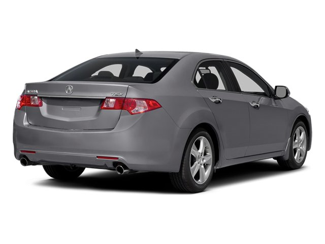 Forged Silver Metallic 2014 Acura TSX Pictures TSX Sedan 4D I4 photos rear view