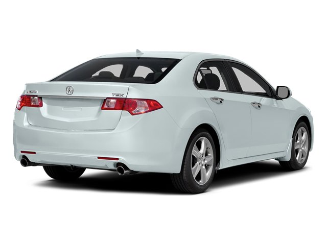 Bellanova White Pearl 2014 Acura TSX Pictures TSX Sedan 4D I4 photos rear view