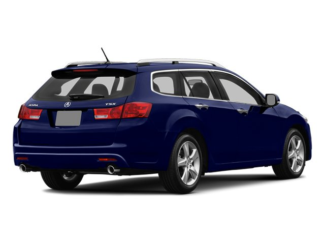 Vortex Blue Pearl 2014 Acura TSX Sport Wagon Pictures TSX Sport Wagon 4D I4 photos rear view
