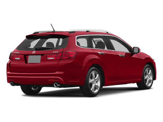 Milano Red 2014 Acura TSX Sport Wagon Pictures TSX Sport Wagon 4D I4 photos rear view