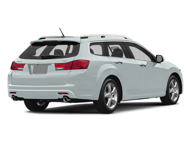 Bellanova White Pearl 2014 Acura TSX Sport Wagon Pictures TSX Sport Wagon 4D I4 photos rear view