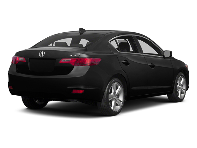 Crystal Black Pearl 2014 Acura ILX Pictures ILX Sedan 4D Technology I4 photos rear view