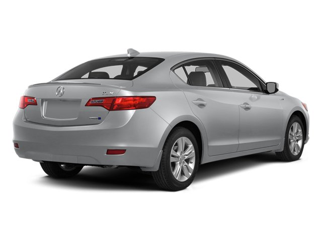 Silver Moon 2014 Acura ILX Pictures ILX Sedan 4D Hybrid Technology I4 photos rear view