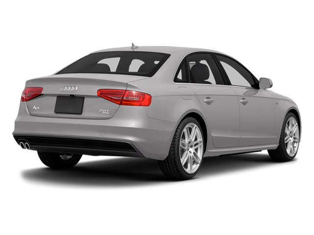 Cuvee Silver Metallic 2014 Audi A4 Pictures A4 Sedan 4D 2.0T Prestige 2WD photos rear view