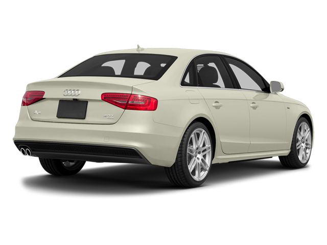 Glacier White Metallic 2014 Audi A4 Pictures A4 Sedan 4D 2.0T Prestige AWD photos rear view