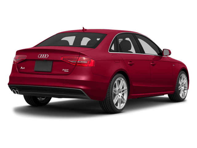 Brilliant Red 2014 Audi A4 Pictures A4 Sedan 4D 2.0T Prestige AWD photos rear view