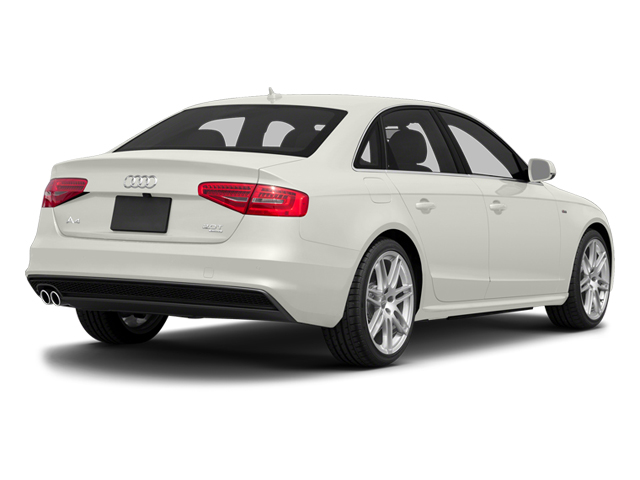 Ibis White 2014 Audi A4 Pictures A4 Sedan 4D 2.0T Prestige 2WD photos rear view