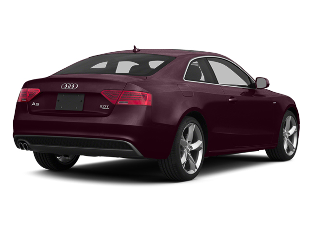 Shiraz Red Metallic 2014 Audi A5 Pictures A5 Coupe 2D Premium Plus AWD photos rear view