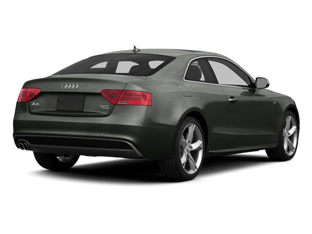 Daytona Gray 2014 Audi A5 Pictures A5 Coupe 2D Prestige AWD photos rear view