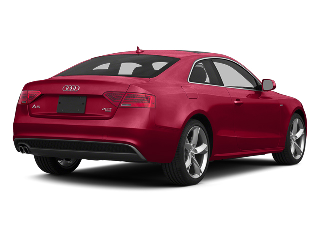 Brilliant Red 2014 Audi A5 Pictures A5 Coupe 2D Prestige AWD photos rear view