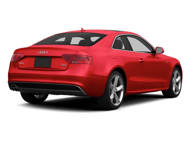 Misano Red 2014 Audi A5 Pictures A5 Coupe 2D Premium Plus AWD photos rear view