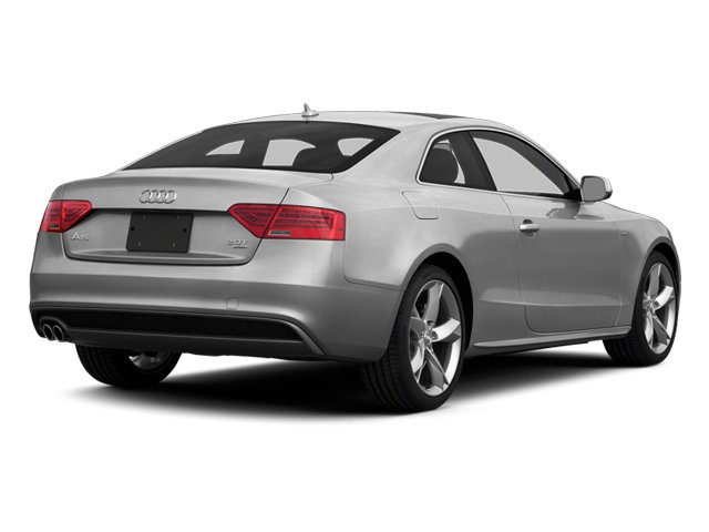 Ice Silver Metallic 2014 Audi A5 Pictures A5 Coupe 2D Premium Plus AWD photos rear view