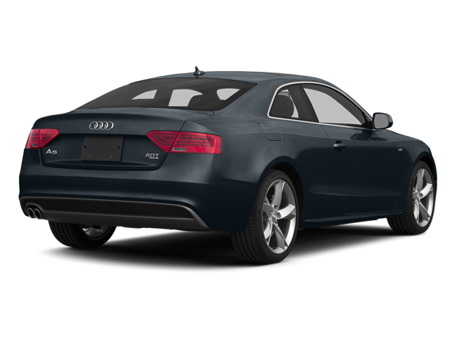 Moonlight Blue Metallic 2014 Audi A5 Pictures A5 Coupe 2D Prestige AWD photos rear view