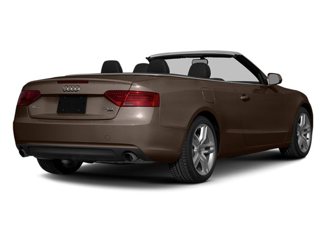 Teak Brown Metallic/Black Roof 2014 Audi A5 Pictures A5 Convertible 2D Premium 2WD photos rear view