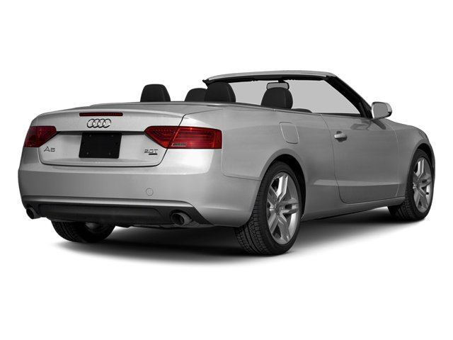 Ice Silver Metallic/Black Roof 2014 Audi A5 Pictures A5 Convertible 2D Premium 2WD photos rear view
