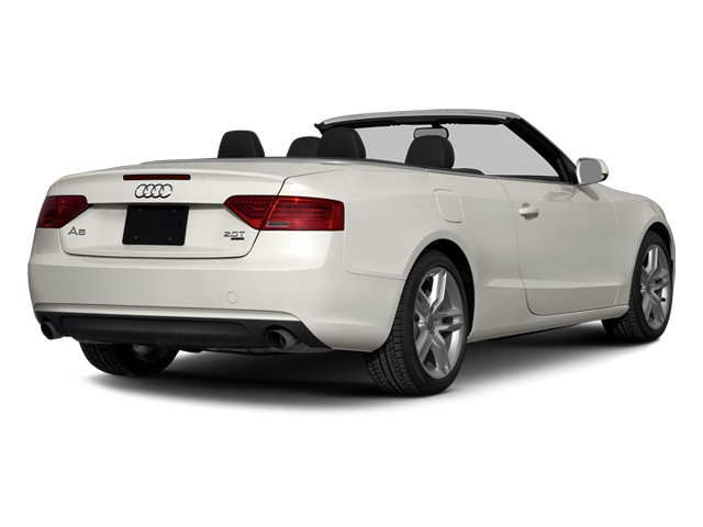 Ibis White/Black Roof 2014 Audi A5 Pictures A5 Convertible 2D Premium 2WD photos rear view