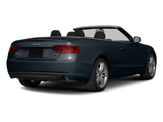 Moonlight Blue Metallic/Black Roof 2014 Audi A5 Pictures A5 Convertible 2D Premium 2WD photos rear view