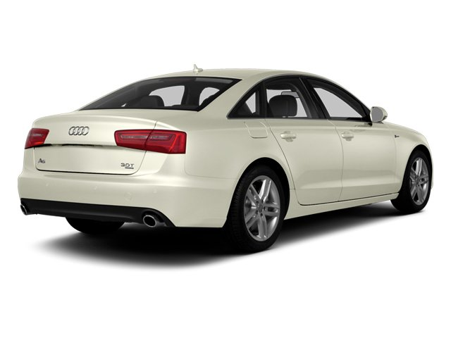 Glacier White Metallic 2014 Audi A6 Pictures A6 Sedan 4D 2.0T Premium Plus AWD photos rear view