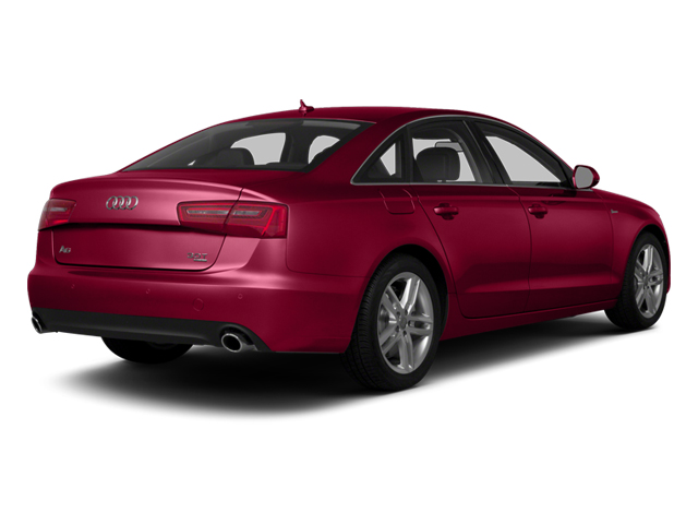 Garnet Red Pearl Effect 2014 Audi A6 Pictures A6 Sedan 4D 2.0T Premium Plus AWD photos rear view