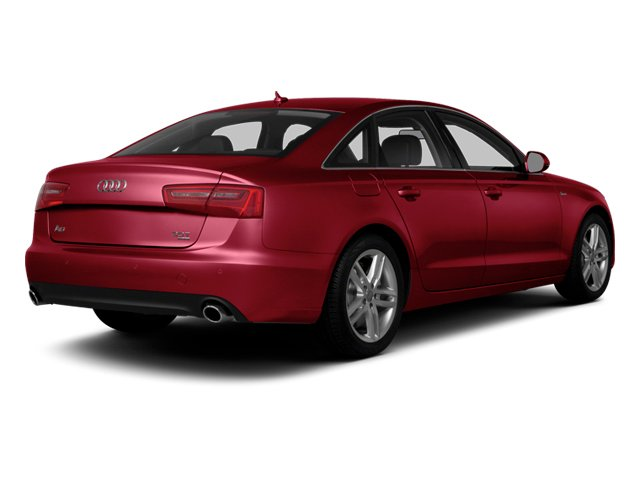 Garnet Red Pearl Effect 2014 Audi A6 Pictures A6 Sedan 4D 2.0T Premium Plus 2WD photos rear view