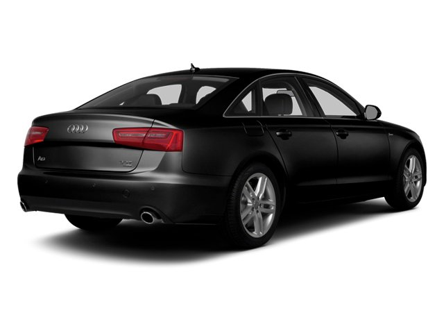 Phantom Black Pearl Effect 2014 Audi A6 Pictures A6 Sedan 4D 2.0T Premium Plus 2WD photos rear view