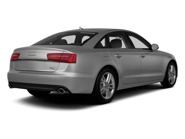 Ice Silver Metallic 2014 Audi A6 Pictures A6 Sedan 4D 2.0T Premium Plus AWD photos rear view