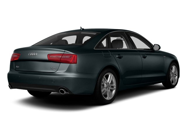 Aviator Blue Metallic 2014 Audi A6 Pictures A6 Sedan 4D 2.0T Premium Plus AWD photos rear view