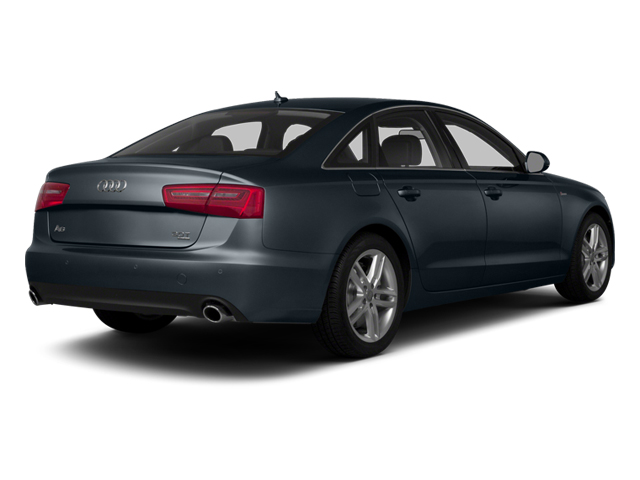 Moonlight Blue Metallic 2014 Audi A6 Pictures A6 Sedan 4D 2.0T Premium Plus AWD photos rear view