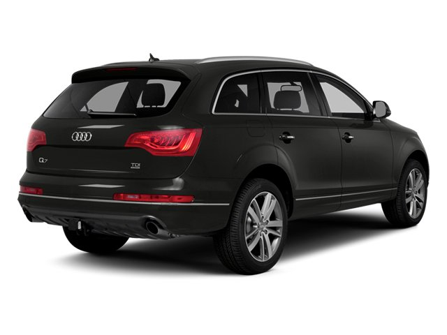 Lava Gray Pearl Effect 2014 Audi Q7 Pictures Q7 Utility 4D 3.0 Prestige S-Line AWD photos rear view
