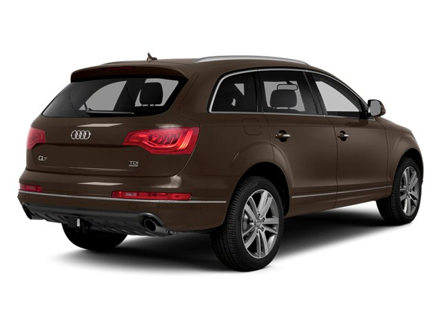 Teak Brown Metallic 2014 Audi Q7 Pictures Q7 Utility 4D 3.0 Prestige S-Line AWD photos rear view