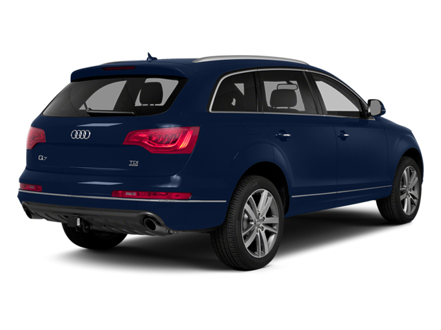 Mugello Blue Pearl Effect 2014 Audi Q7 Pictures Q7 Utility 4D 3.0 Prestige S-Line AWD photos rear view