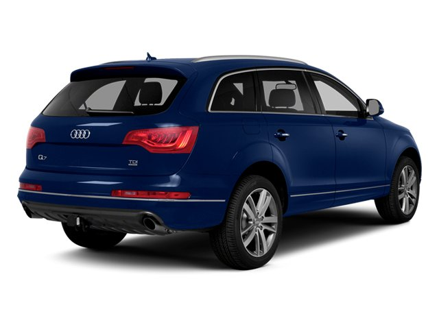 Scuba Blue Metallic 2014 Audi Q7 Pictures Q7 Utility 4D 3.0 Prestige S-Line AWD photos rear view