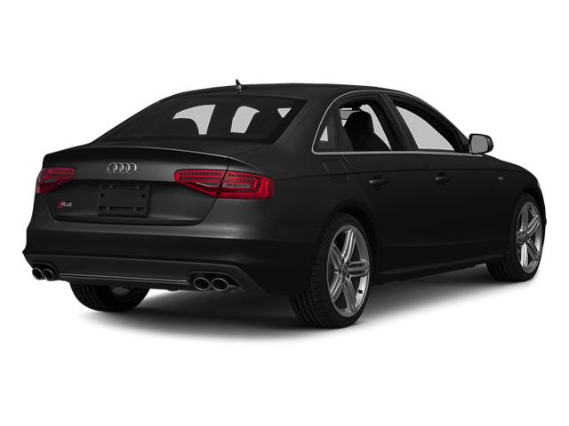 Phantom Black Pearl Effect 2014 Audi S4 Pictures S4 Sedan 4D S4 Prestige AWD photos rear view