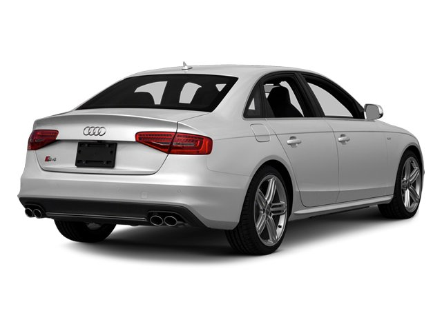 Ice Silver Metallic 2014 Audi S4 Pictures S4 Sedan 4D S4 Prestige AWD photos rear view