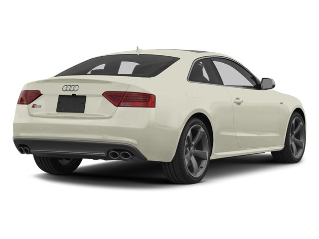 Glacier White Metallic 2014 Audi S5 Pictures S5 Coupe 2D S5 Premium Plus AWD photos rear view